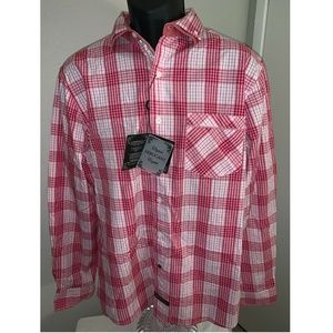 NWT English Laundry Mens Button Up Shirt L/S XL